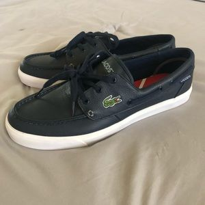 Lacoste Men Boat Shoes brand New !